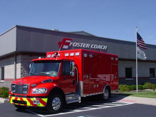 Freightliner Type I Horton ambulance