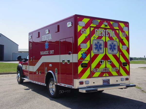 New ambulance for the Geneva Fire Departmen