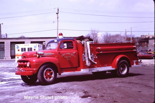 1952 Ford / American LaFrance pumper