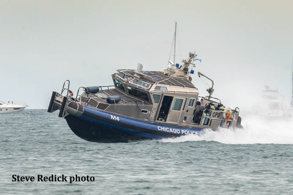 Chicago Police Department boat