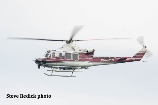 Chicago Fire Department helicopter