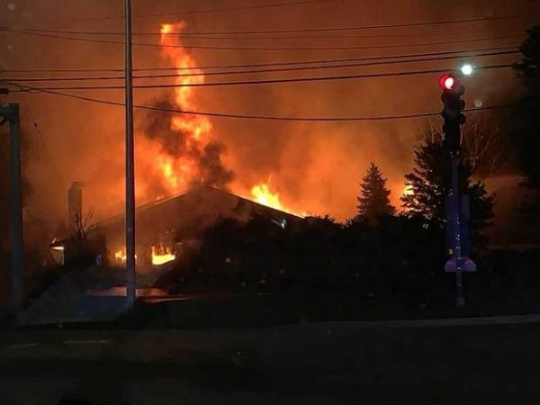 restaurant gutted by flames