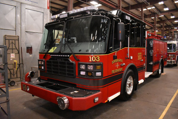 new Downers Grove FD Engine 103