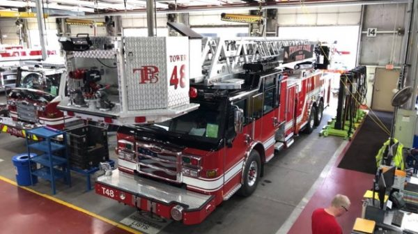 Tinley Park FD Tower Ladder 48