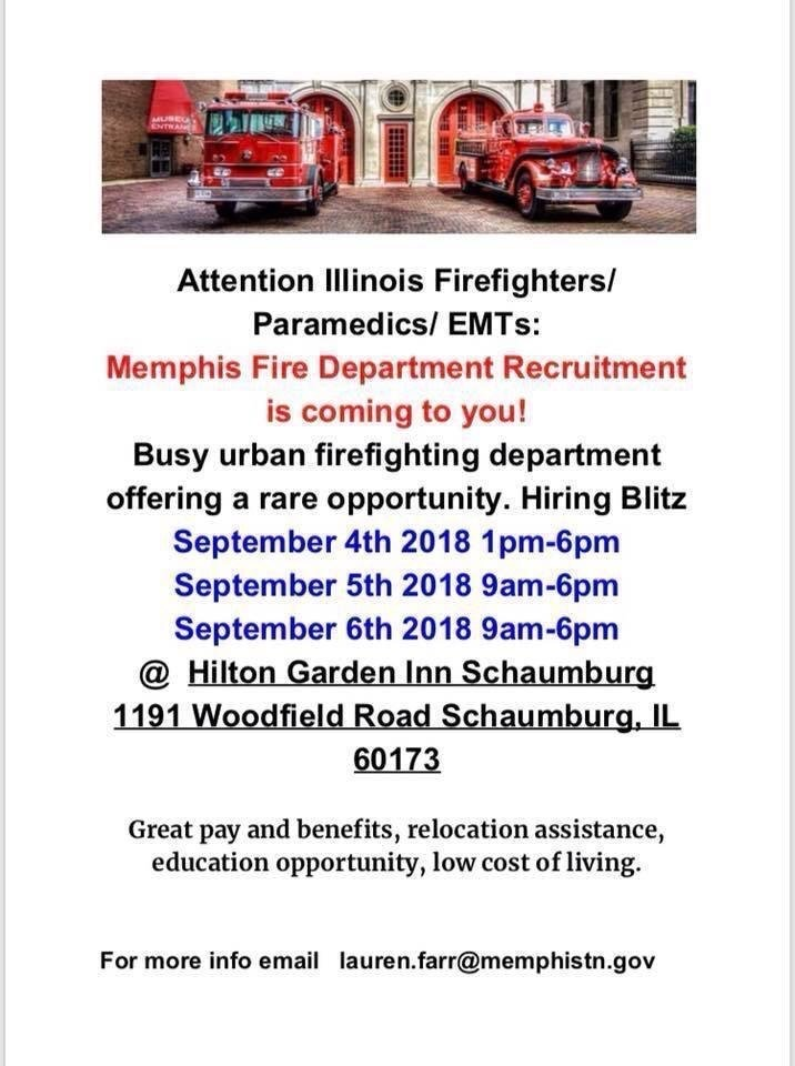 Memphis FD seeking job applicants