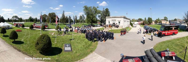 Chicago FD 9/11 memorial ceremony