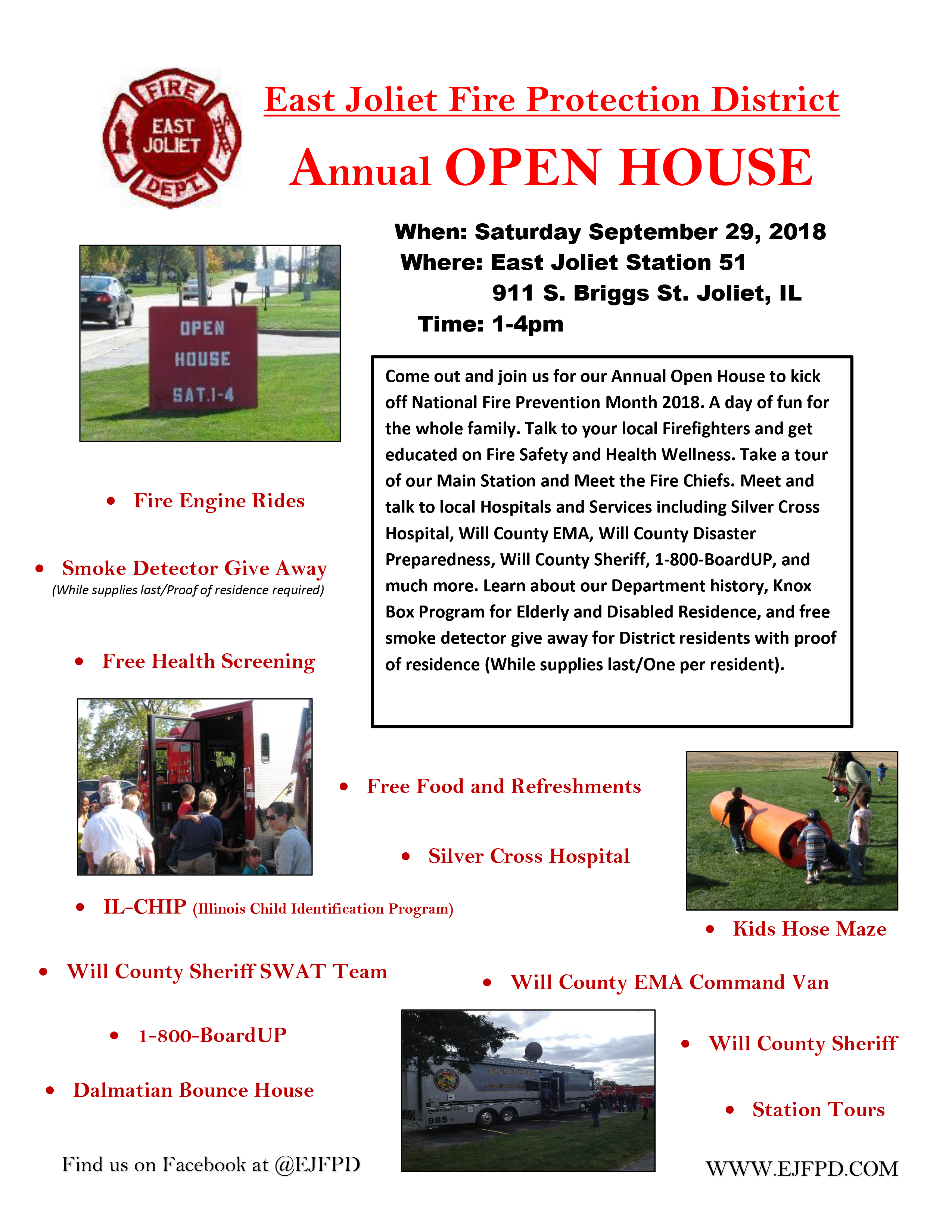 East Joliet FPD open house