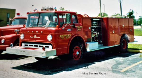 1960s Ford C/Darley fire engine