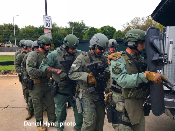 Naperville PD SWAT team