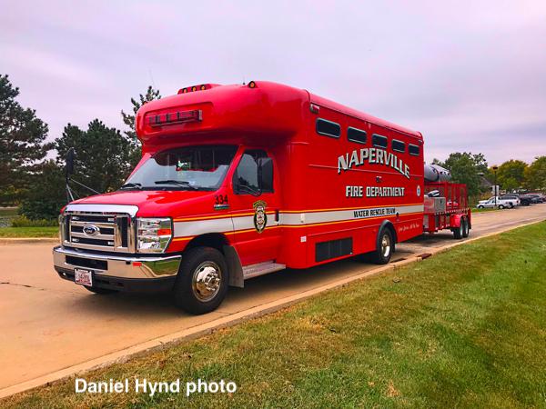 Naperville FD Water Rescue Unit 7