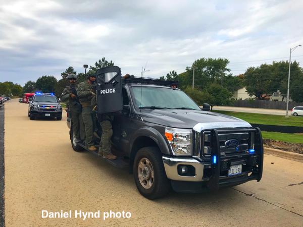 Naperville PD SWAT team