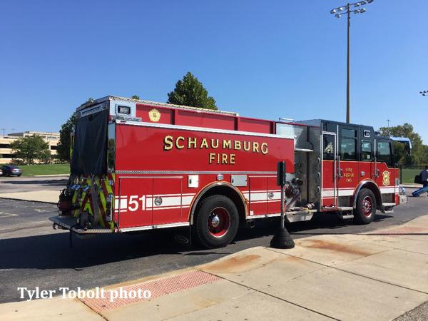 Schaumburg FD Engine 51