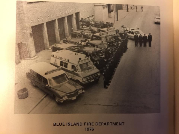 Blue Island Fire Department circa 1976