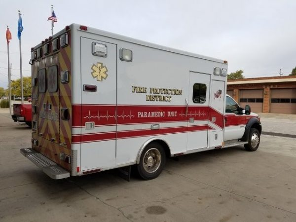 2007 Ford F/Medtec ambulance for sale