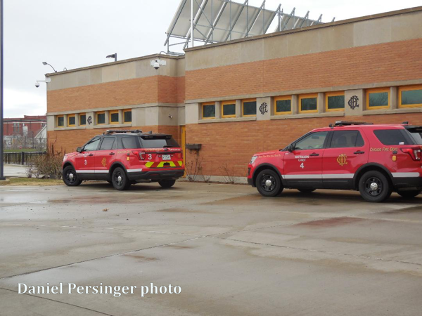 Chicago FD Battalion 3 and 4