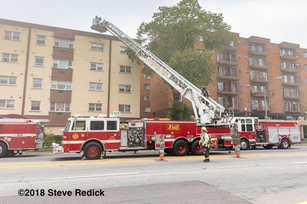 fire trucks at fife scene
