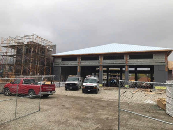 Elk Grove Village FD Station 10 under construction