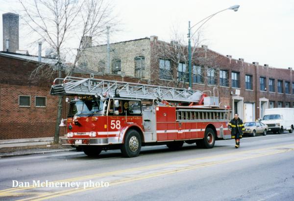 Chicago FD Truck 58