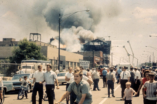 5-11 Alarm at 2153 N Elston Avenue, July 7, 1966 in Chicago