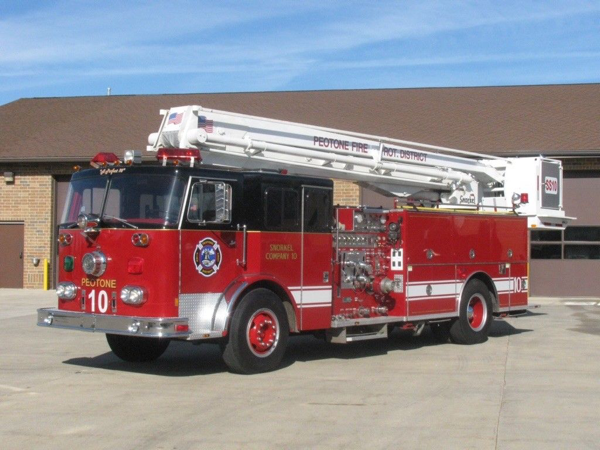 1980 Seagrave 55' Snorkel for sale on eBay