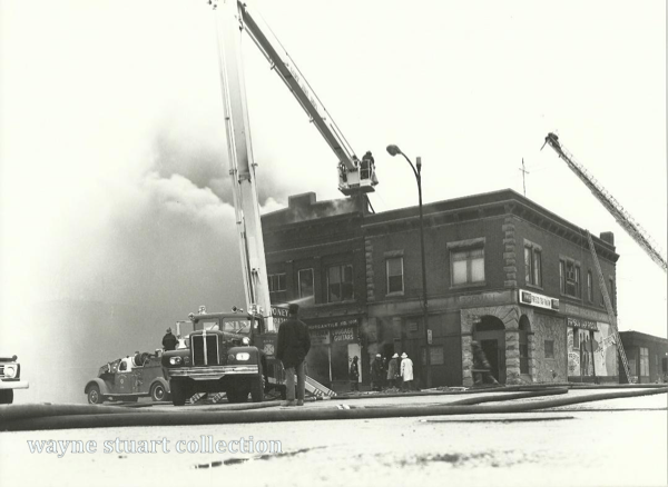 1960s major fire in Gary Indiana