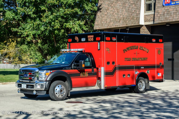 Downers Grove FD Ambulance 105