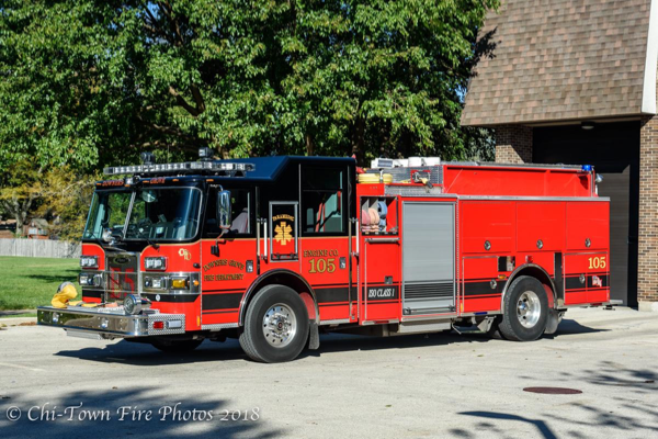 Downers Grove FD Engine 105