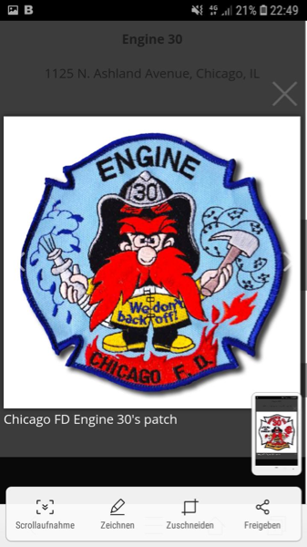 Chicago FD Engine 30 company patch
