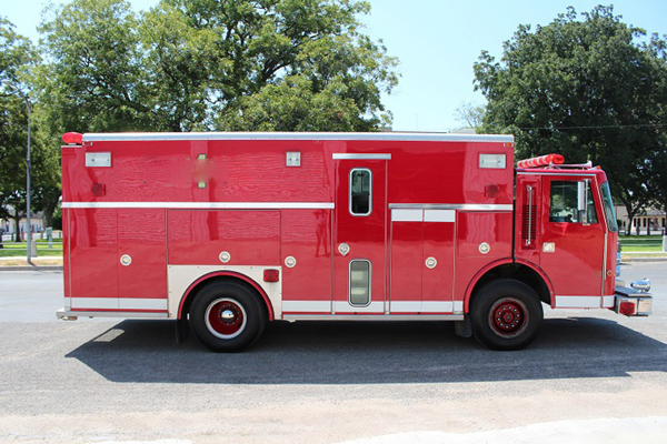 1989 Saulsbury Simon-Duplex Walk-In Rescue bought by the Peotone FPD