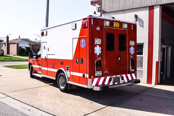 2008 Ford F-350/Wheeled Coach Ambulance
