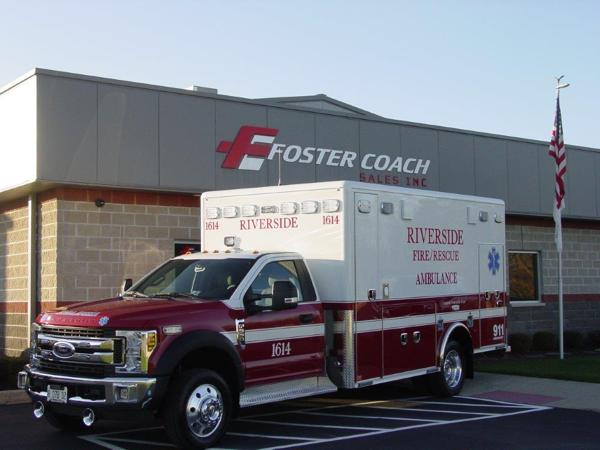 Riverside FD Ambulance 1614
