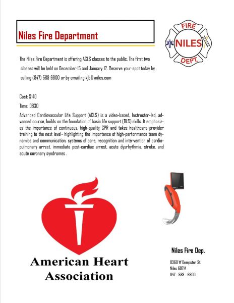 ACLS cours in Niles IL