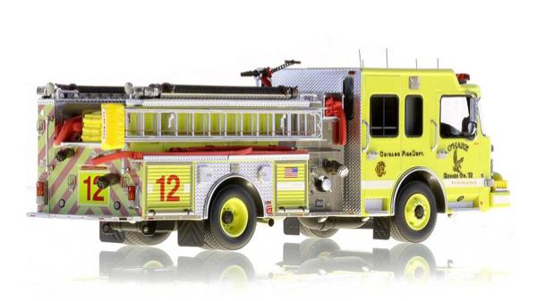 Chicago FD Engine 12 replica model