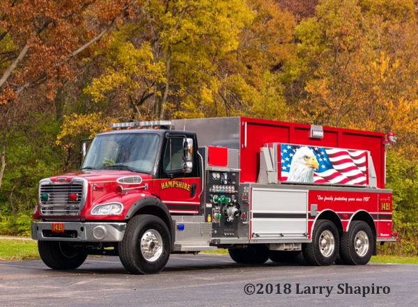 Hampshire FPD Tanker 1421