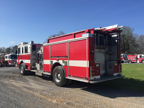 2008 Pierce Arrow XT pumper purchased used by the Robbins IL FD