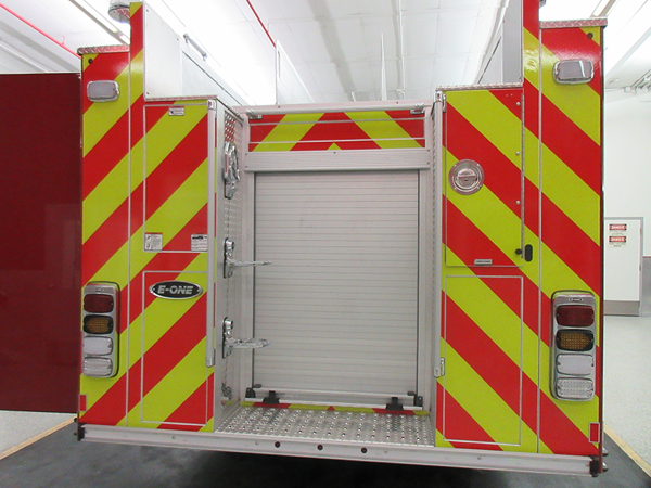 New E-ONE fire engine for the Beach Park FD in Illinois