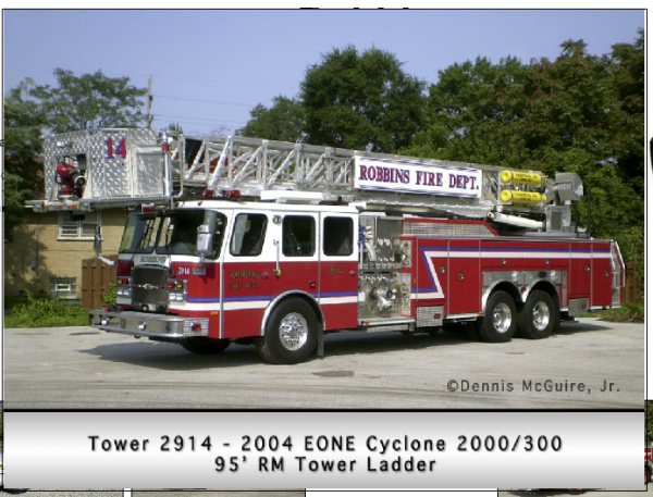 Robbins FD Tower 2914