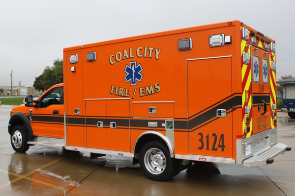 Coal City FPD Ambulance 3124