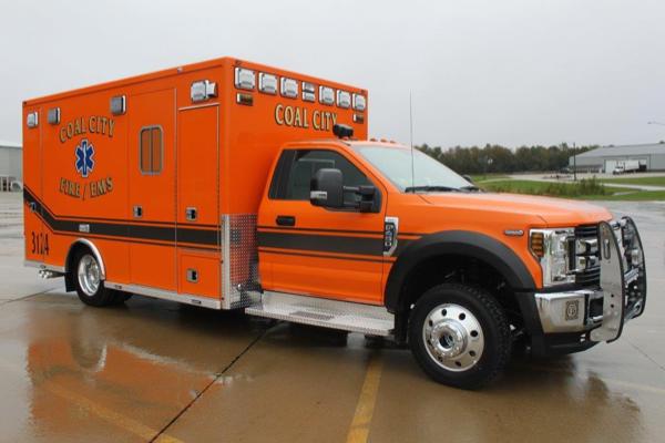 Coal City FPD Ambulance 3124