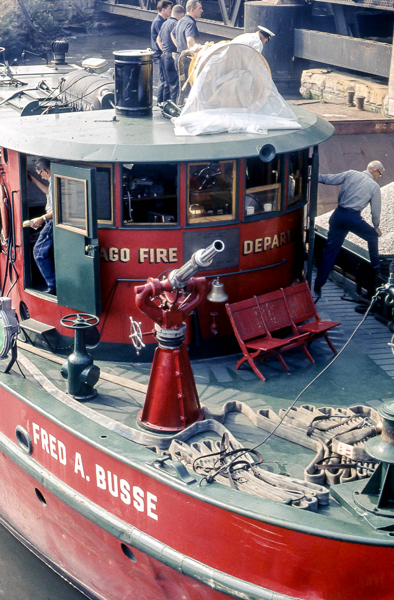 Chicago F Fire Boat Fred A Busse