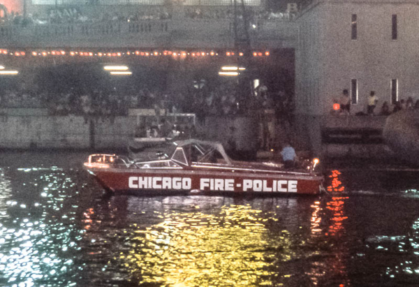 old Chicago FD boat