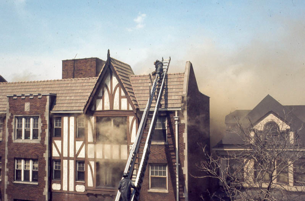 3-11 Alarm fire April 12, 1971 at 934 Cuyler in Chicago
