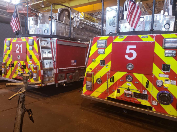New tower ladders for Chicago FD