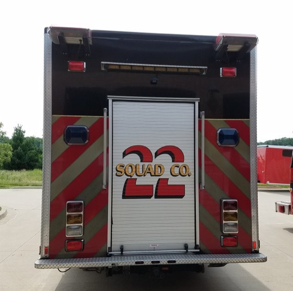 2006 Marion Spartan heavy rescue Spartan Gladiator Evolution chassis