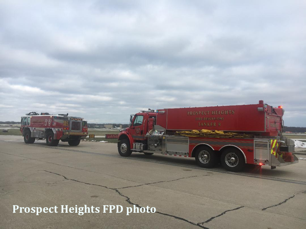 Prospect Heights FPD ARFF unit and tender 9
