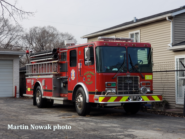 1996 HME/Luverne fire engine