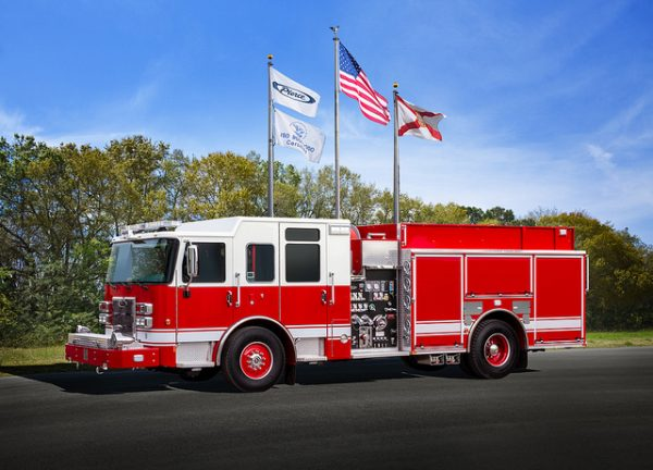Pierce fire engine for the Country Club Hills FD 32140-1