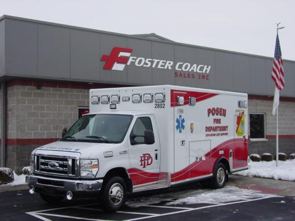 Posen FD Ambulance 2802