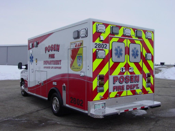 Posen FD Ambulance 2802