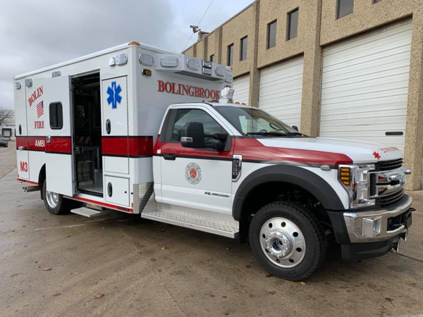 Bolingbrook FD Ambulance M3